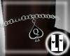 [LI] Spade Anklet