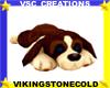 Stuffed  Dog  Rug