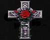 rose/cross coffin