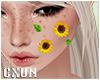 Sunflower on Cheek L | F