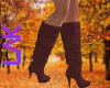 Fall boots rose