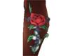 Cassie Flower Tattoo