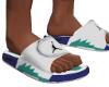 Grape Jordan slides !