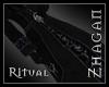 [Z] Ritual Robe blk/blue