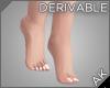 ~AK~ Dainty Pedicure