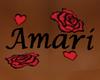 Amari Back Tattoo M