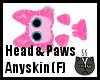 Anyskin Head & Paws (F)