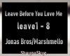 Leave Before You Love Me