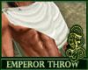 Emperor Throw White