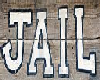 Old Western Jail Sign