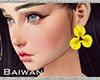 [Bw] Yw Flower Earrings