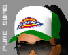 PS™ Dickies Hat-Grn/Wht