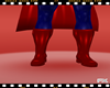 FX BOOTS RED SUPERMAN