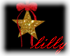 Animated Xmas Star red