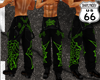 SD Black Bibs Green Webs