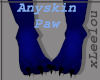 {L} Furry Anyskin Paws