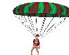 Santa Sleigh Parachute