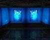 bar papillon bleu