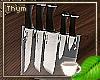 Glass Knife Set