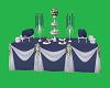 animated blue dinning ta
