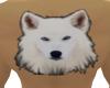 Wolf Head Back Tatt
