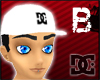 [B] White DC Cap