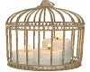 Candles Birdcage