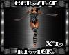 Corset Black XL