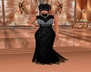 Black & Diamond Gown