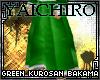Green Kurosan Bakama