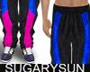 /su/ NYLON SWEAT PANTS