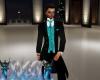 blk+teal tuxedo