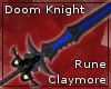 Doom Knight Rune Sword