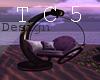 Romantic animated swing