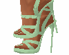 zapatos verde esmeralda