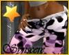 *S Pajama Pants Pnk
