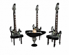 metallica guitar table
