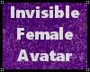 Invisible Female Avi