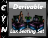 Derivable Lux SeatingSet