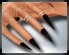 Nails+Rings Black