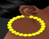 [MM] Earrings Yellow