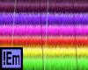 !Em Long Rainbow Wallett