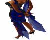 Blue Butterfly Drape