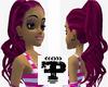 F> Purple Mix PersepHair