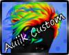 Custom| Rainburst Hair