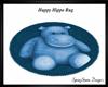 Happy Hippo Rug