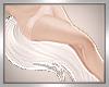 *D White Kitsune Tail