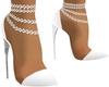White Frill Shoe