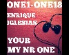 Enrique My Number One