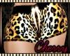 Slim- Cheetah Shorts